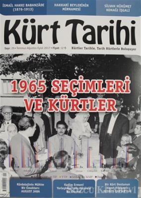 Kürt Tarihi Dergisi Sayı: 29 Temmuz - Ağustos - Eylül 2017