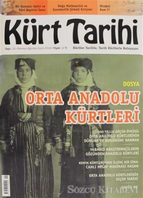 Kürt Tarihi Dergisi Sayı: 33 Temmuz - Ağustos - Eylül 2018