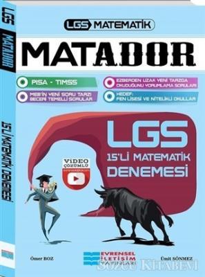 LGS Matador Video Çözümlü 15'li Matematik Denemesi
