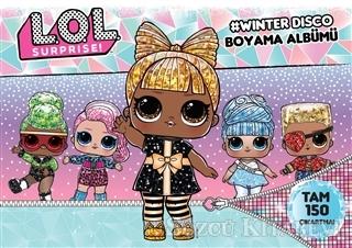 Kolektif - Lol Surprise! Winter Disco Boyama Albümü | Sözcü Kitabevi