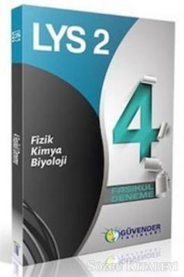 Kolektif - LYS-2 Fizik-Kimya - Biyoloji 4 Fasikül Deneme | Sözcü Kitabevi