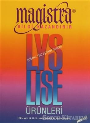 Magistra LYS Lise Ürünleri / Edebiyat 2 (1750 Bilgi 350 Kart)