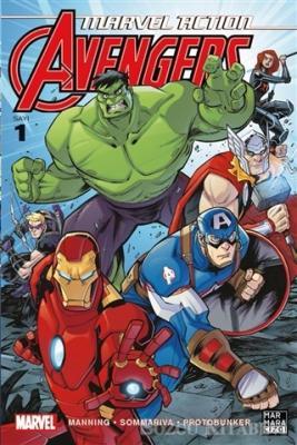 Marvel Action Avengers 1