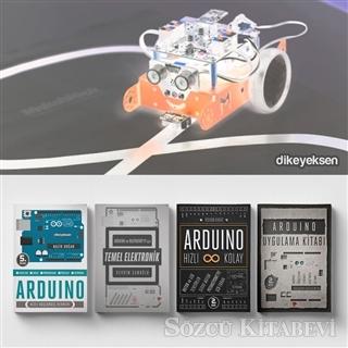 Volkan Kanat - Mekar'lar için Cep Boy Arduino Başlangıç Seti (4 Kitap Takım) | Sözcü Kitabevi