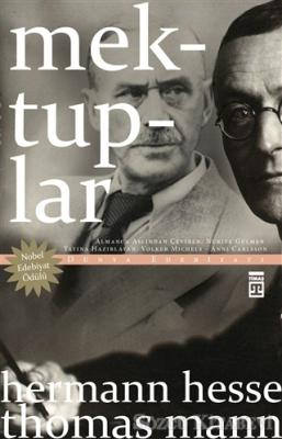 Hermann Hesse - Mektuplar – Hermann Hesse / Thomas Mann | Sözcü Kitabevi