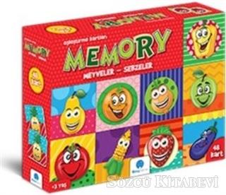 Memory Meyveler Sebzeler 48 Kart
