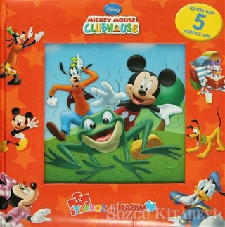 Mickey Mouse Clubhouse - İlk Yapboz Kitabım