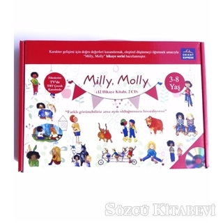 Milly Molly (12 Hikaye Kitabı + 2 CD)
