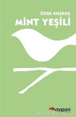 Mint Yeşili Ahşap Kuş