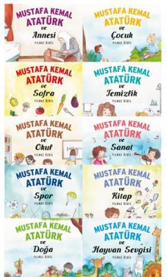 Yılmaz Özdil - Mustafa Kemal Atatürk Yılmaz Özdil Çocuk Serisi 10 Kitap - Mustafa Kemal Kitabı Hediye | Sözcü Kitabevi