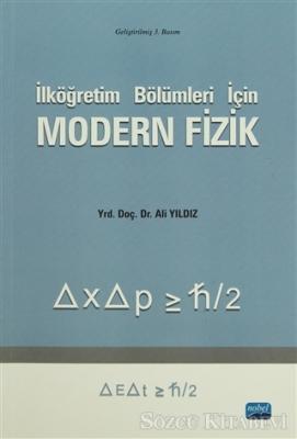 Modern Fizik İlköğretim Bölümleri için