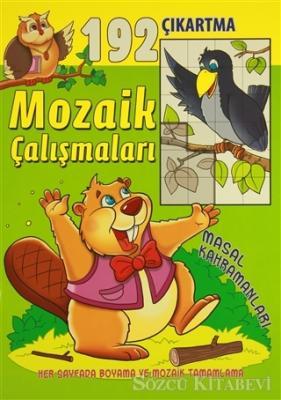 Mozaik Çalışmaları 192 Çıkartma -  Masal Kahramanları