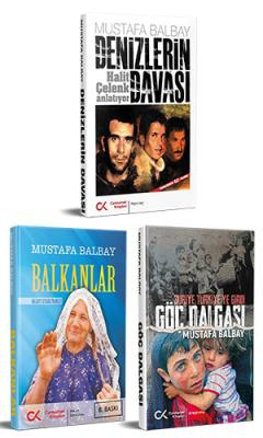 Mustafa Balbay Seti (3 Kitap)