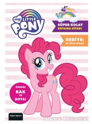 My Little Pony Süper Kolay Boyama Kitabı