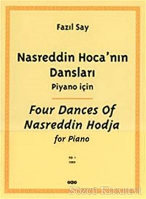 Fazıl Say - Nasreddin Hoca'nın Dansları Piyano İçin | Sözcü Kitabevi