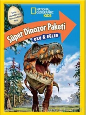 National Geographic Kids - Süper Dinozor Paketi Oku ve Eğlen