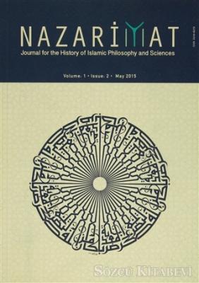 Nazariyat Dergisi Volume : 1 Issue : 2 May 2015 (İngilizce)