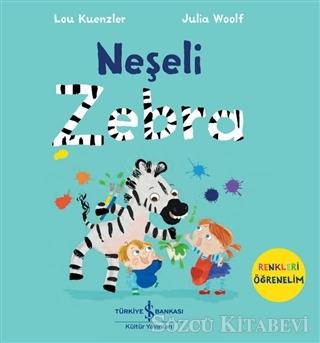 Neşeli Zebra - Renkleri Öğrenelim