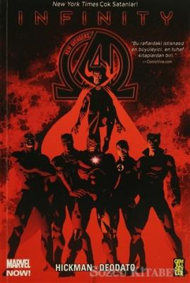 Jonathan Hickman - New Avengers Marvel Now! 2. Cilt: İnfinity | Sözcü Kitabevi