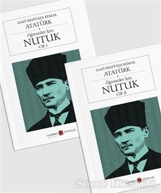 Mustafa Kemal Atatürk - Öğrenciler İçin Nutuk (2 Cilt Cep Boy) | Sözcü Kitabevi