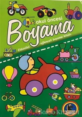 Kolektif Okul Oncesi Boyama Etkinlikli Eglenceli Dev Boyama