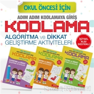Kolektif Okul Oncesi Icin Adim Adim Kodlamaya Giris 3 Kitap