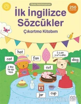 Okula Hazırlanıyorum - İlk İngilizce Sözcükler Çıkartma Kitabım