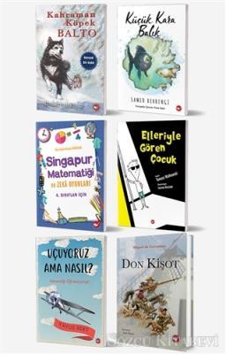 Elizabeth Cody Kimmel - Okullarda Okutulan 4. Sınıf Kitap Seti (6 Kitap Takım) | Sözcü Kitabevi