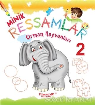 Orman Hayvanları - Minik Ressamlar 2
