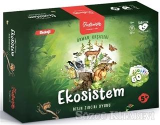 Orman Kaşifleri Ekosistem Besin Zinciri Oyunu (5+ Yaş)