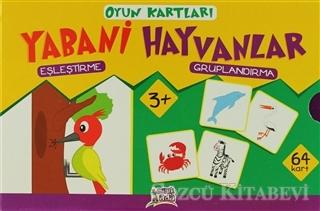 Minik Ada Oyun Kartları - Yabani Hayvanlar