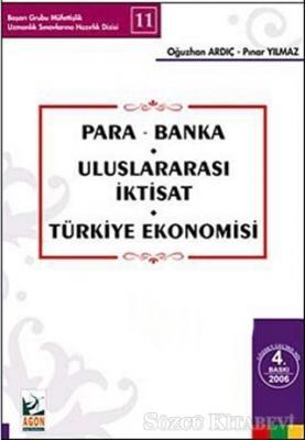 Para - Banka Uluslararası İktisat Türkiye Ekonomisi