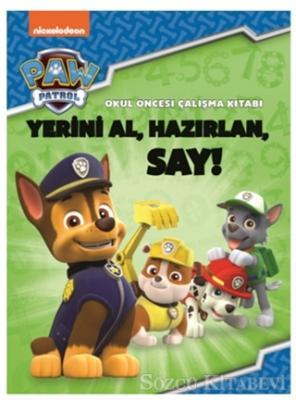 Paw Patrol Okul Öncesi Çalışma Kitabı