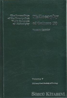 Volume 7: Philosophy of Culture(s)