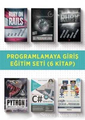 Programlamaya Giriş Eğitim Seti (6 Kitap Takım)