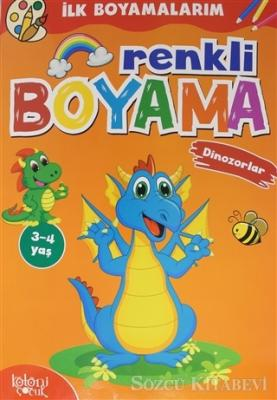 Renkli Boyama - Dinozorlar