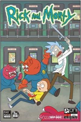 Zac Gorman - Rick and Morty 1 | Sözcü Kitabevi