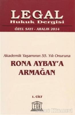 Rona Aybay'a Armağan (2 Cilt Takım) Özel Sayı Aralık 2014