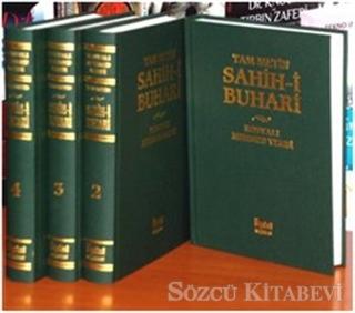 Sahih-i Buhari Tam Metinli (4 Cilt Takım)