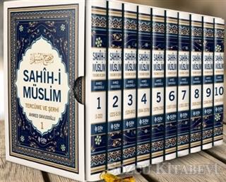 Sahih-i Müslim Tercüme ve Şerhi (10 Cilt Takım)