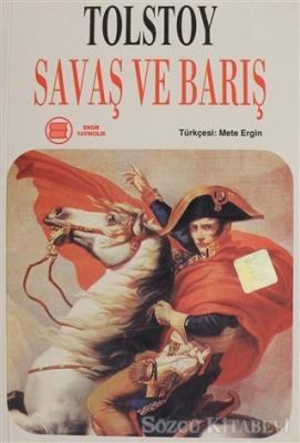 Lev Nikolayeviç Tolstoy - Savaş ve Barış Cilt: 1   Sözcü Kitabevi