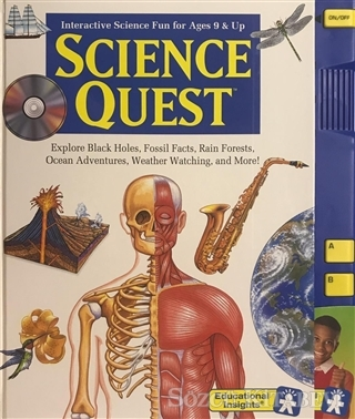 Kolektif - Science Quest - Interactive Science Fun for Ages 9 and Up | Sözcü Kitabevi