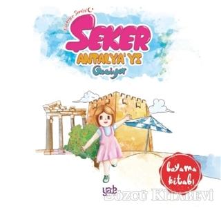 Şeker Antalya'yı Geziyor - Boyama Kitabı