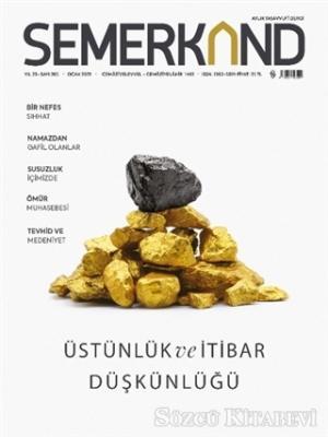 Semerkand Aylık Tasavvufi Dergi Sayı: 265 Ocak 2021