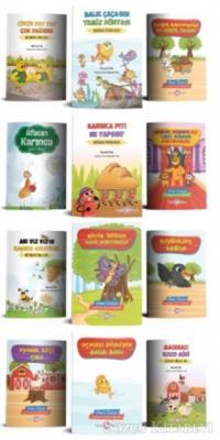 Kolektif - Sevimli Hayvanlar Hikaye Seti (12 Kitap Takım) | Sözcü Kitabevi