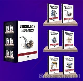 Sir Arthur Conan Doyle - Sherlock Holmes - Pipo (6 Kitap Kutulu Set) | Sözcü Kitabevi