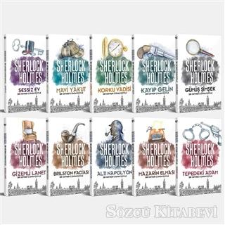 Sir Arthur Conan Doyle - Sherlock Holmes Seti (10 Kitap Takım) | Sözcü Kitabevi