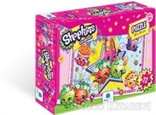 Shopkins Puzzle 72 Parça