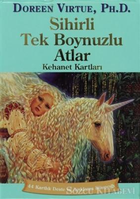 Doreen Virtue - Sihirli Tek Boynuzlu Atlar Kehanet Kartları (Kutulu)   Sözcü Kitabevi