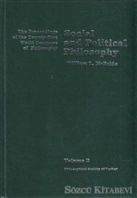 Volume 2: Social and Political Philosophy